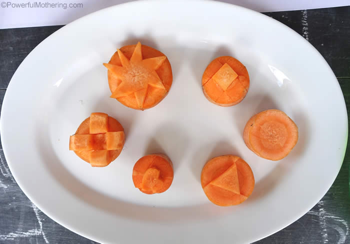 carrot stamps