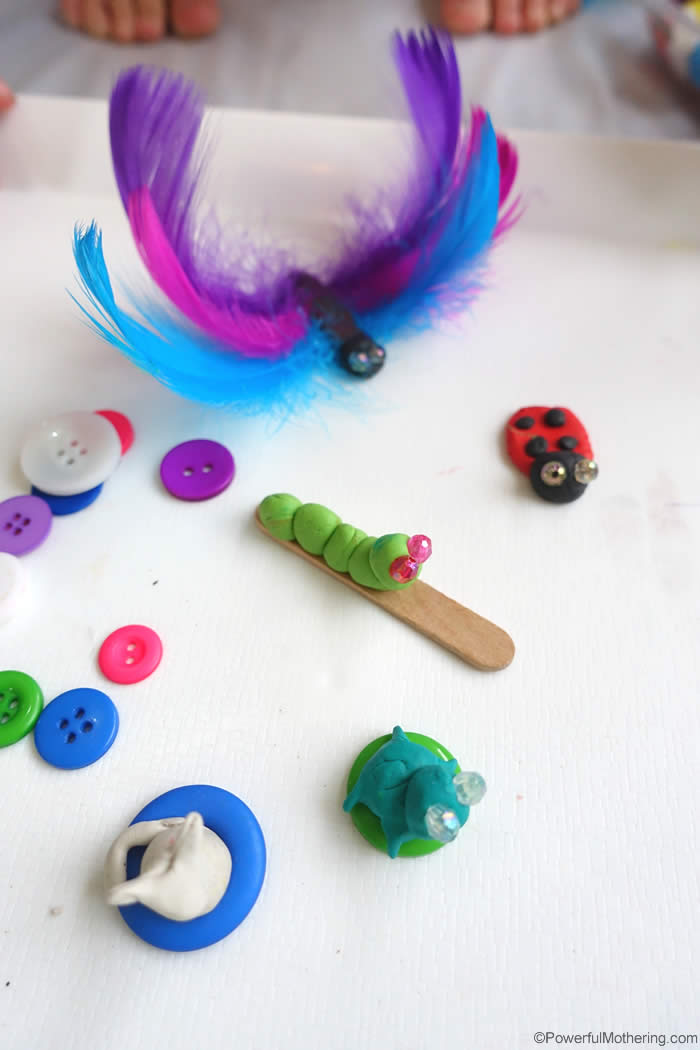 cute clay bugs and things