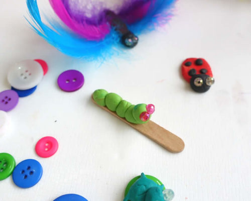 Cute Clay Bugs & Critters