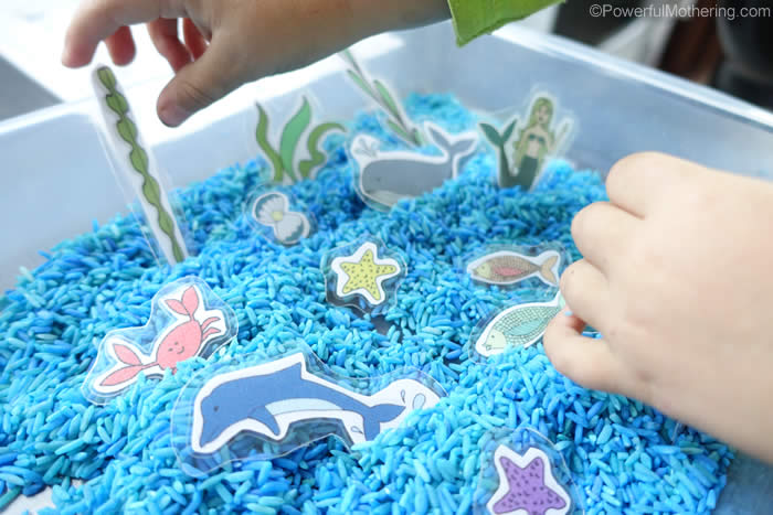 under the sea pretend play
