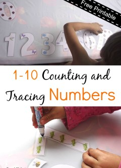 1-10 Counting and Tracing Numbers (Now with 11-20 Extension!)