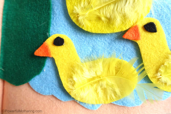 feathers on ducks