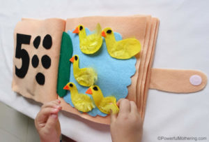 No Sew Counting and Numbers Quiet Book – Part 3