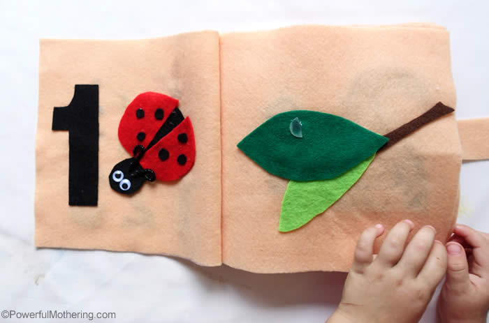 one lady bug counting ideas
