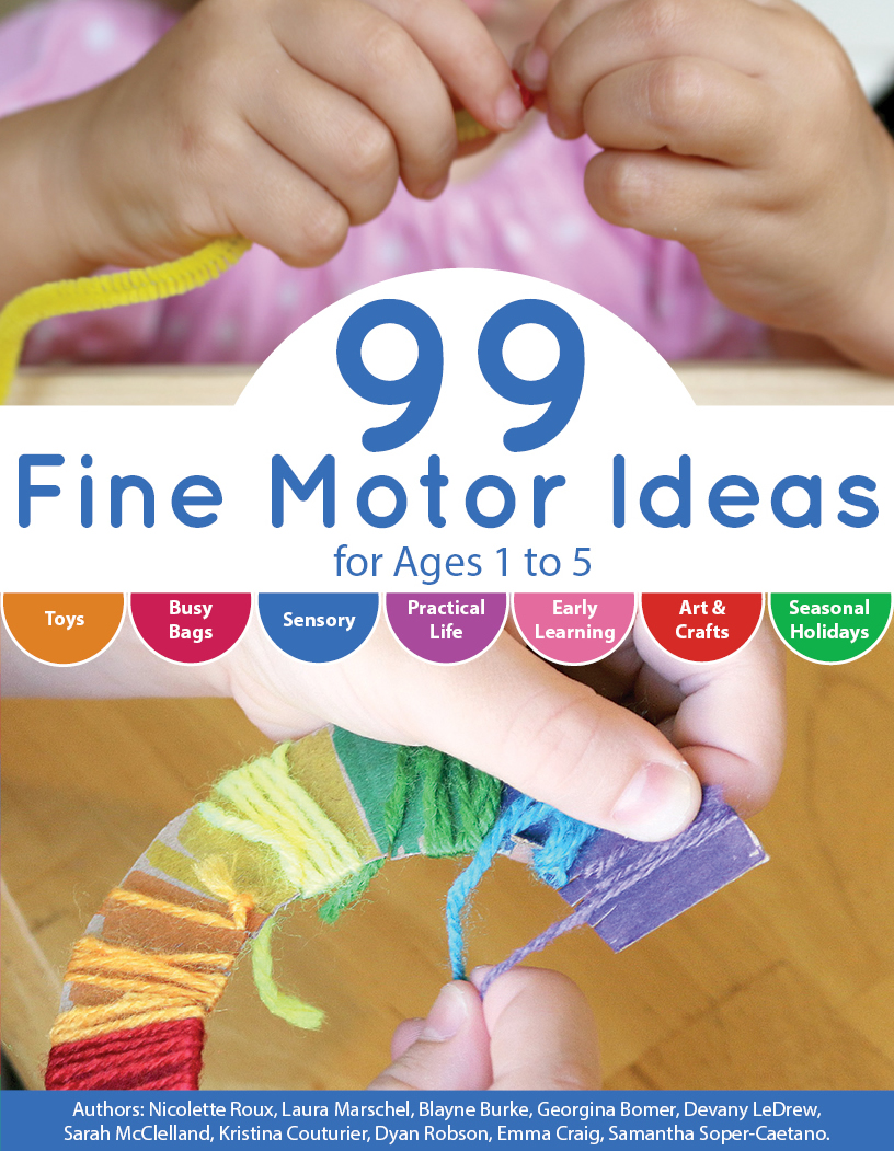 Fine Motor Ideas Cover