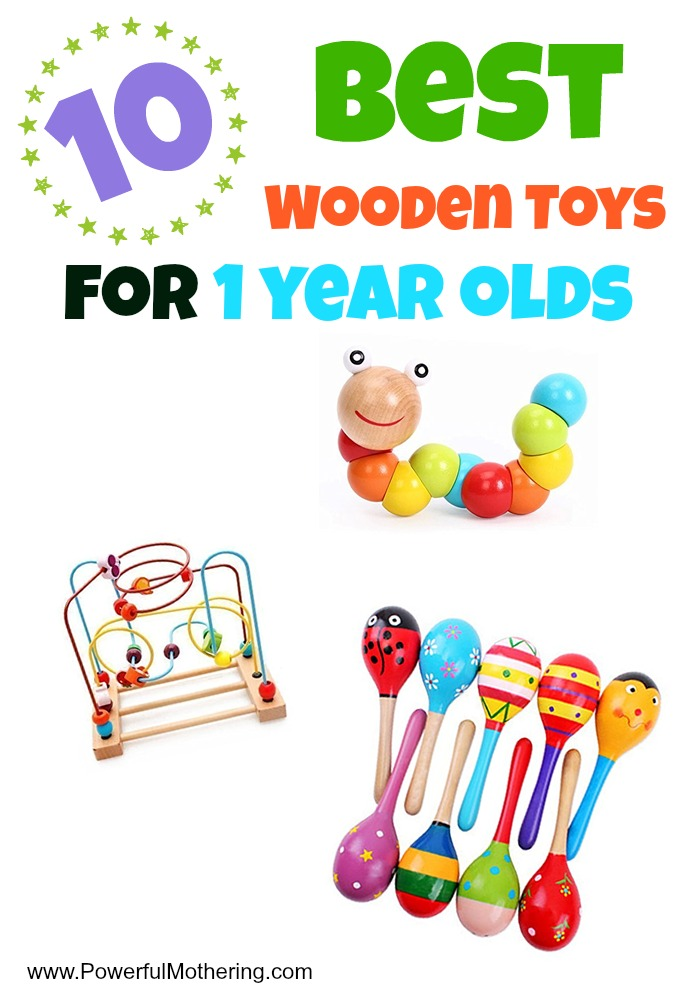 best wooden toys for 1 year olds