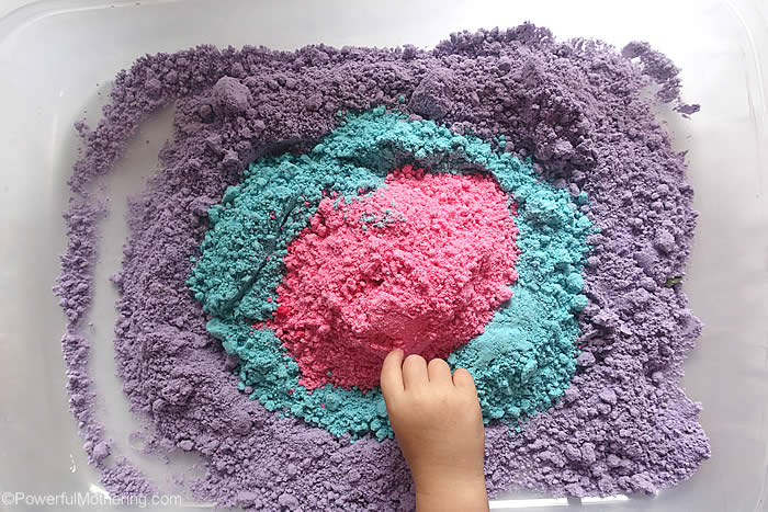 cosmos cloud dough recipe