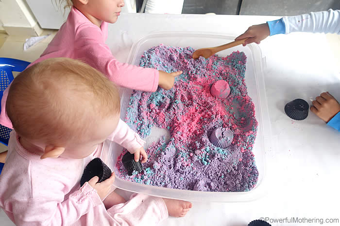 toddler cloud dough recipe