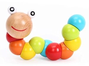 twisting wooden toy
