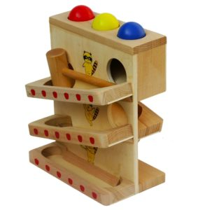 wooden ball set