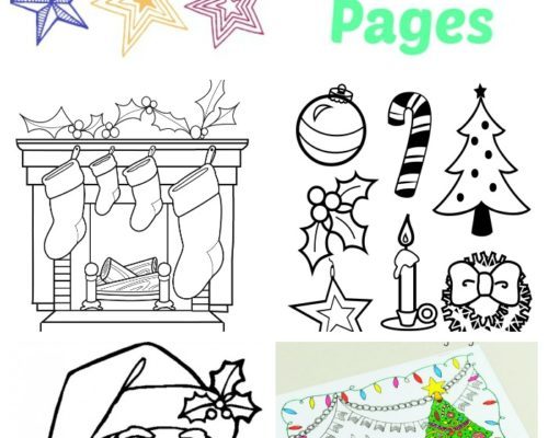 50+ Free Christmas Coloring Pages