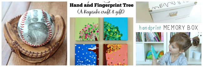 HANDPRINT GIFTS FOR DAD