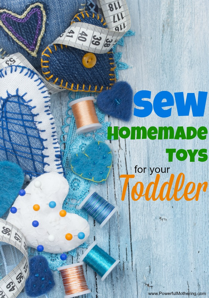 How to Easily Sew Homemade Toys for your Toddler yay