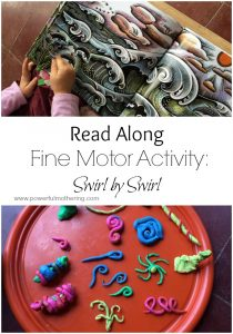 Read Along Fine Motor Activity Swirl by Swirl