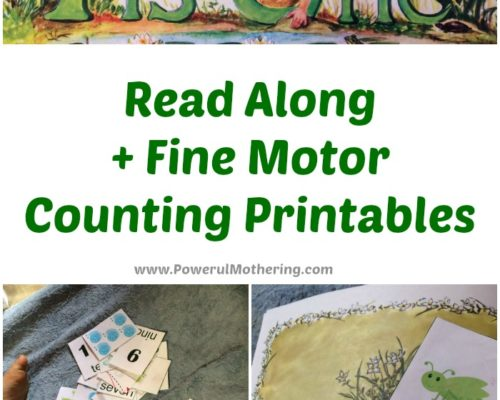 Read Along + Counting Printables