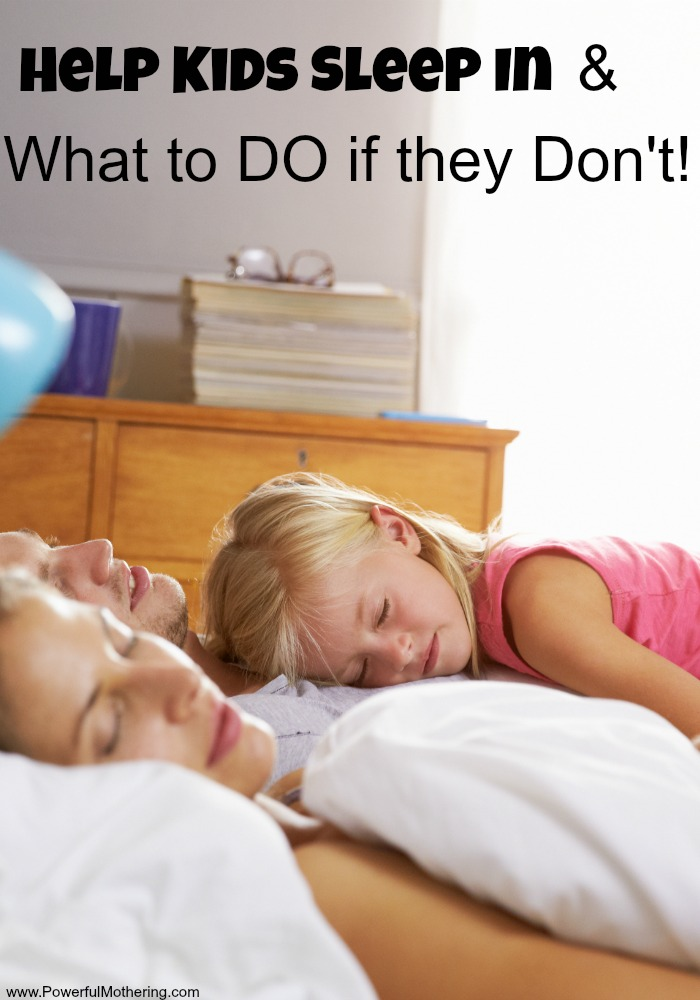 sleep in kids!