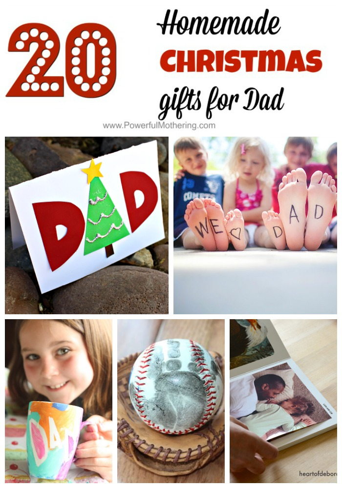 Homemade Christmas Gifts for Dad - So Thoughtful!