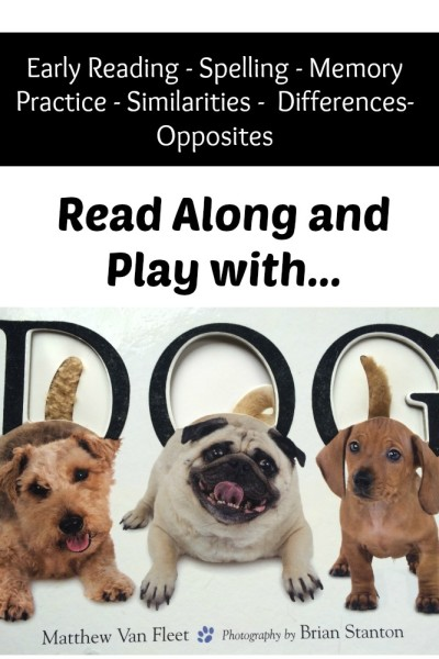 Read Along Book Activity with DOG