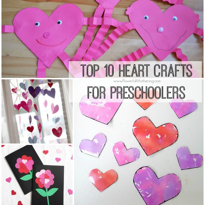 Top 10 Heart Crafts for Preschoolers
