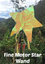 Read Along Fine Motor Activity with Stars