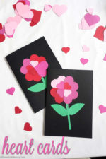 Heart Flower Cards