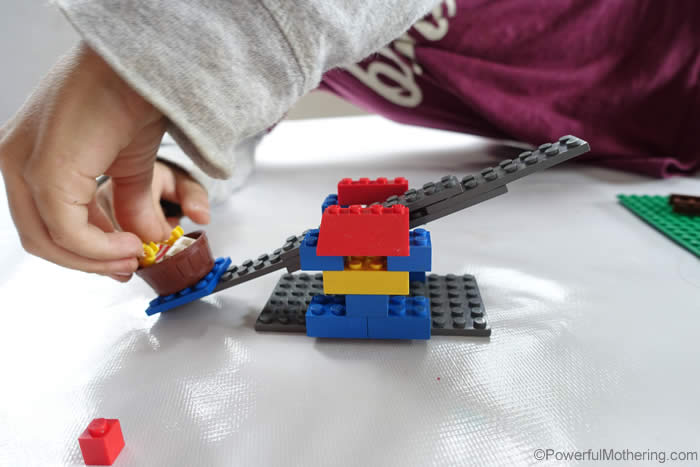 lego man being tossed