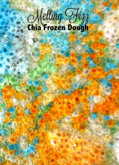 Melting Fizz Chia Frozen Dough