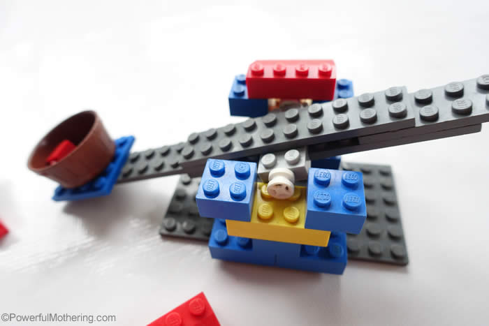 secret of building a lego catapult