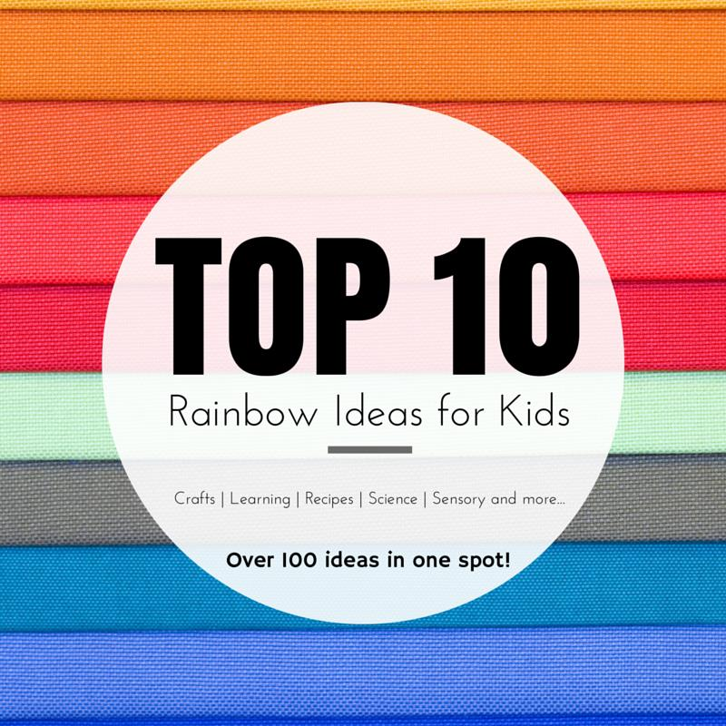 100 ways to play and learn with rainbows