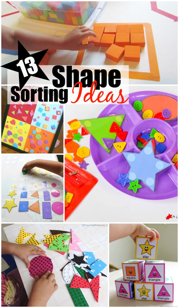 13 Engaging Shape Sorting Ideas For Preschoolers