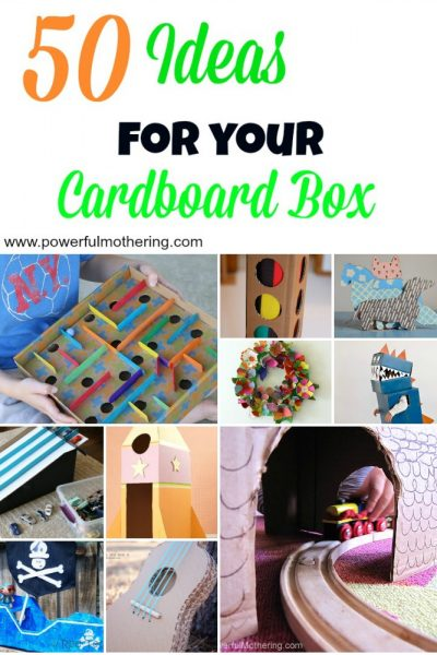 50 Ideas For your Cardboard Box pinterest2