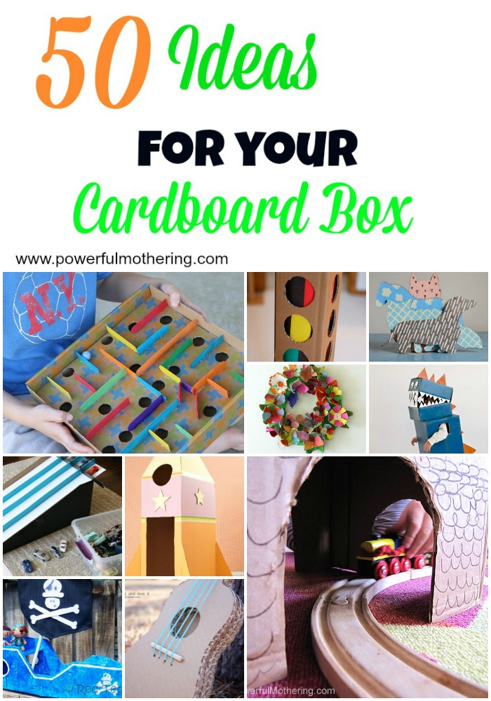 50 Ideas for your Cardboard Box