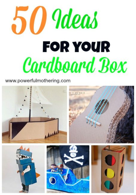 50 Ideas For your cardboard box pinterest
