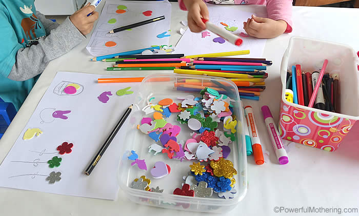 creative area for preschoolers