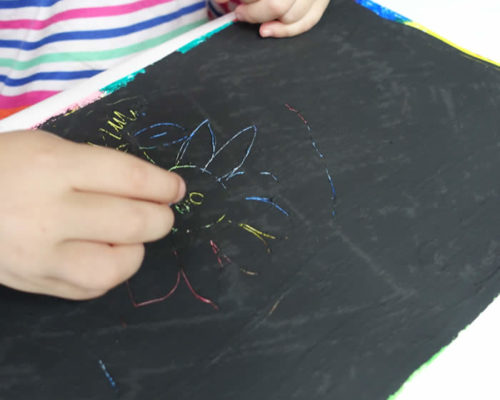 Scratch Art Paper for Kids