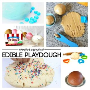 edible playdough ideas