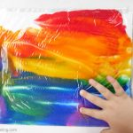 make a no mess rainbow