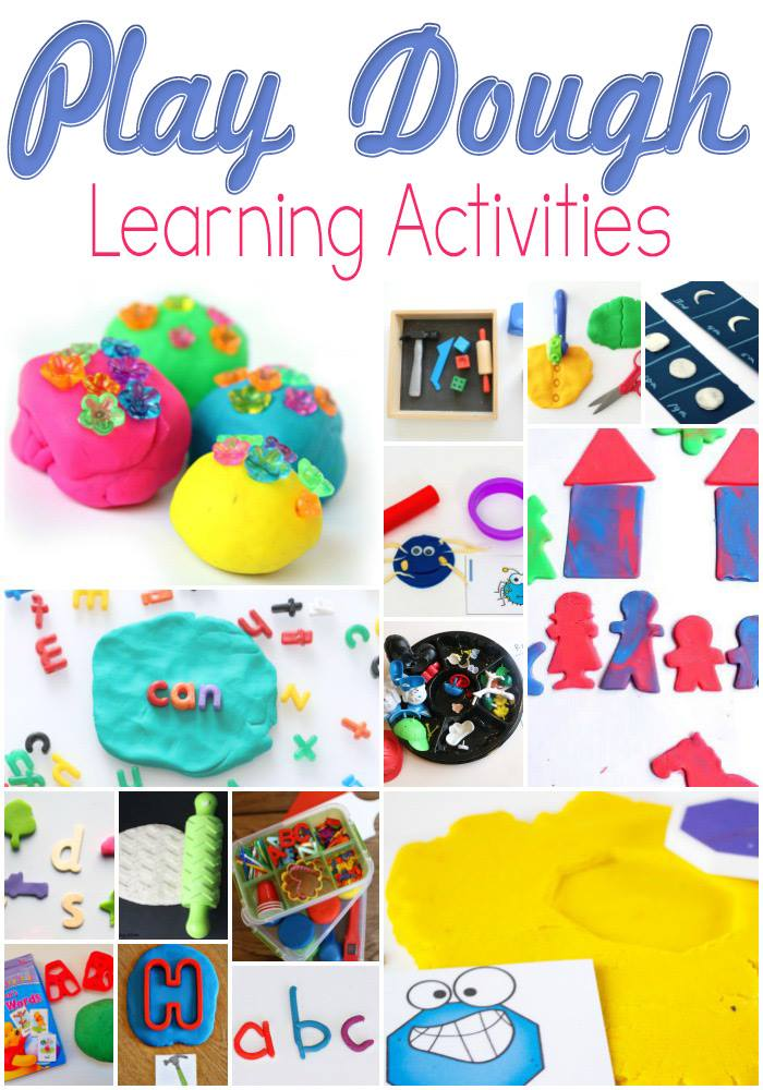 playdough learning activities