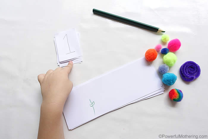 writing and number activity for preschoolers