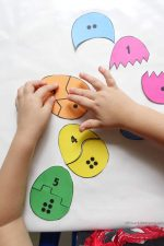 Toddler Counting & Matching Eggs Game