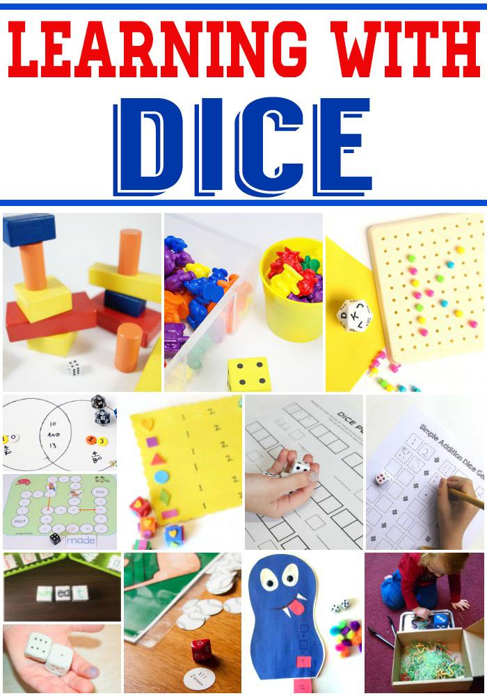 dice games and activities for preschoolers