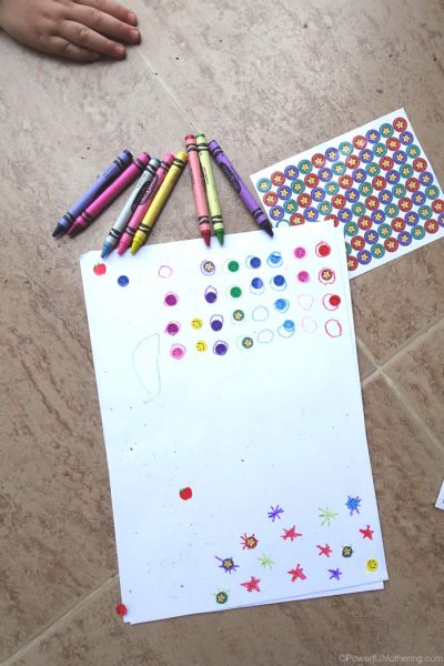 Color Recognition with Stickers