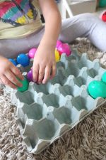 Baby & Toddler Easter Eggs Activity