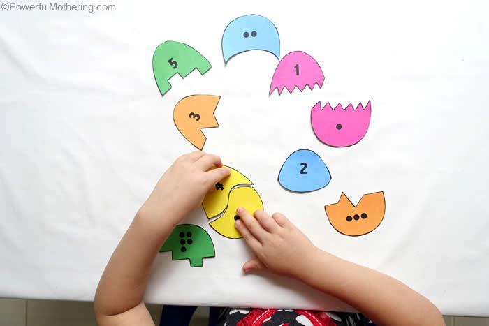 toddler matching game