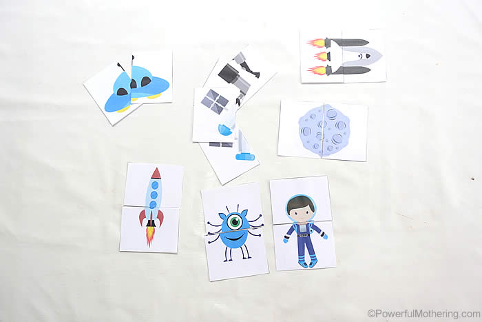preschooler space theme ideas