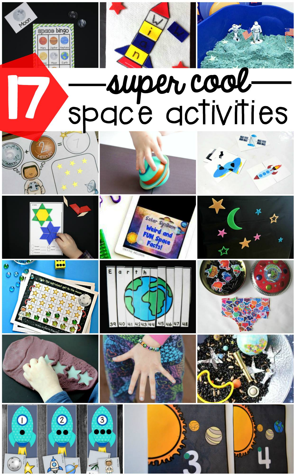 space theme ideas for preschoolers