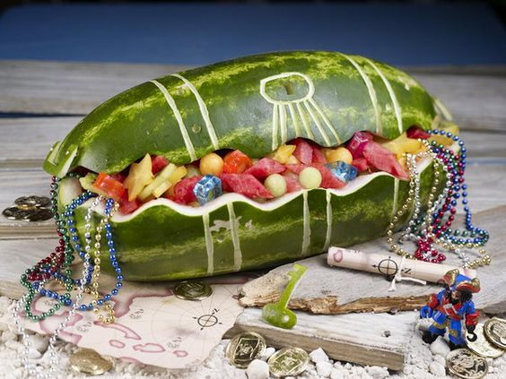 watermelon treasure chest