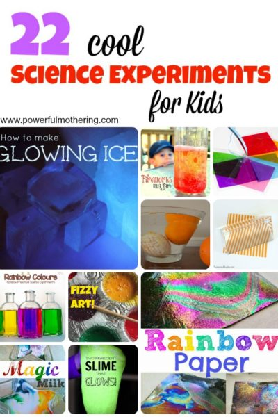 22 Cool Science Experiments for Kids