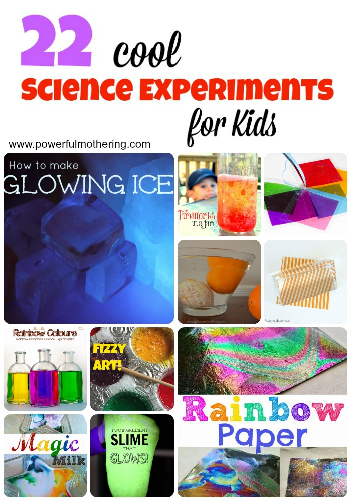 22 cool science experiments for kids2