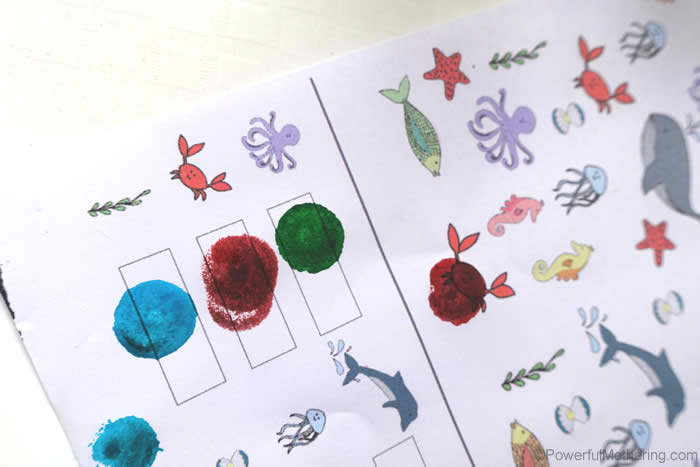 color dotting the i spy printable